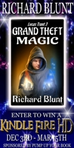 Grand Theft Magic long banner